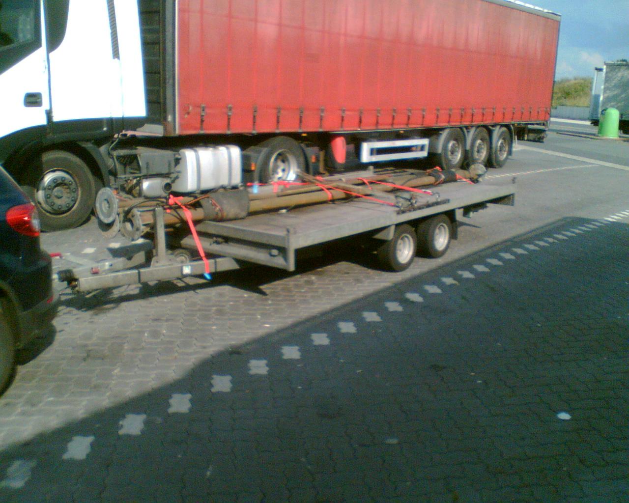 Transport Mastverlängerung
